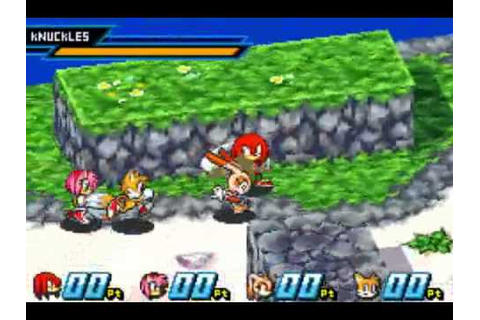 Sonic Battle (Game Boy Advance) with commentary - YouTube