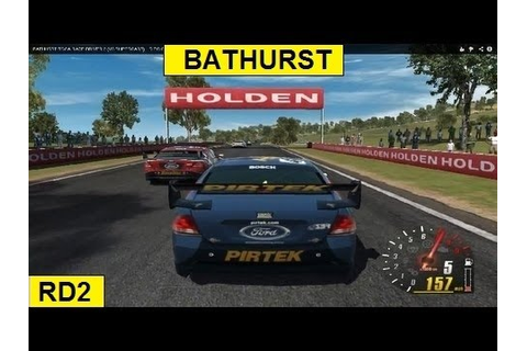 BATHURST TOCA RACE DRIVER 2 (V8 SUPERCARS) HD PC GAMEPLAY ...