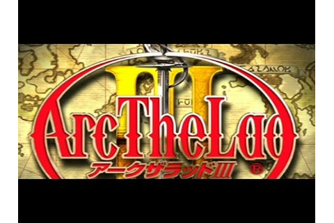 Classic PS1 Game Arc the Lad III on PS3 in HD 720p - YouTube