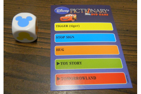 Disney Pictionary DVD Game Board Game Review and Rules ...
