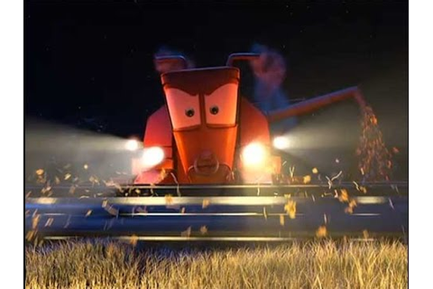 Disney Pixar CARS - Tractor Tipping with Mater and ...