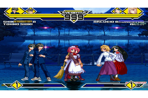 Melty Blood Party 4v4 Patch MUGEN 1.0 Battle!!! - YouTube