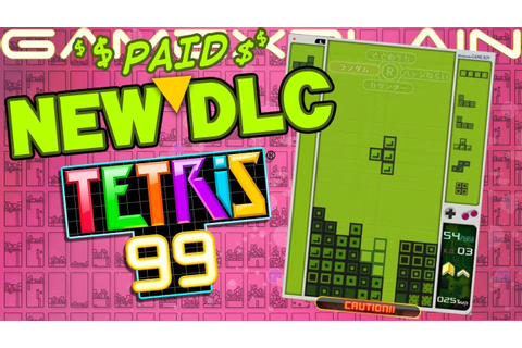 Tetris 99 Gets Paid DLC Offline Modes TODAY + Classic Game ...