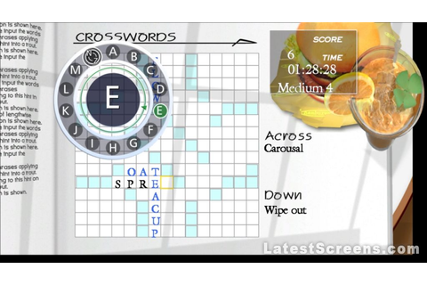 All Coffeetime Crosswords Screenshots for Xbox 360