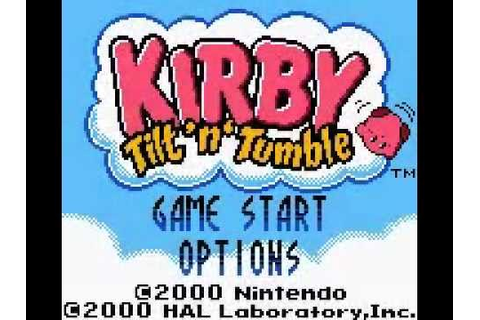 #TOP 45 #NINTENDO #GAMEBOY | KIRBY TILT 'N' TUMBLE (HAL ...