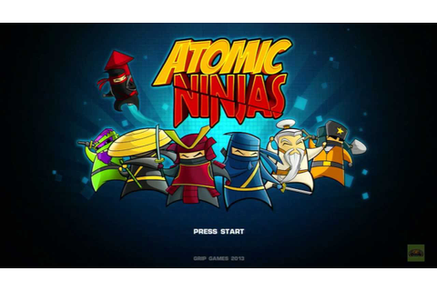 Atomic Ninjas Have Game, Will Play Review - YouTube