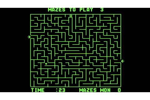 Amazing Maze 1976 Midway - Mame Arcade Video Game ...