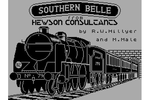 Southern Belle (1985) ZX Spectrum game