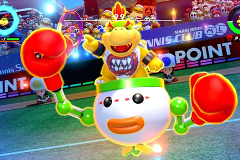 Mario Tennis Aces update will nerf Bowser Jr. - Polygon