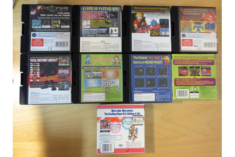 For Trade: Trading Neo Geo Pocket Color Games for Genesis ...