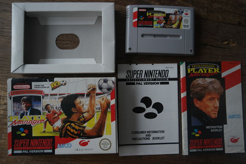 Super Nintendo Boxed Game - Kevin Keegan's Player Manager ...