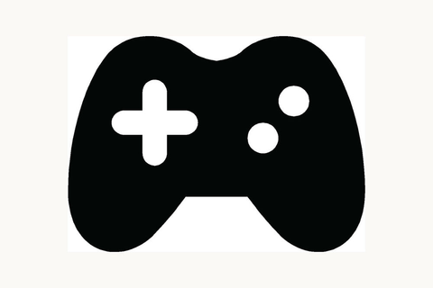 VIDEO GAME CONTROLLER Sticker Icon Car Window Vinyl Decal ...