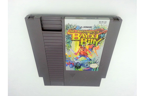 Adventures of Bayou Billy game for Nintendo NES - Loose ...