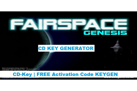 Fairspace Code Generator [Free CD Key] ~ CD Keys and Serials