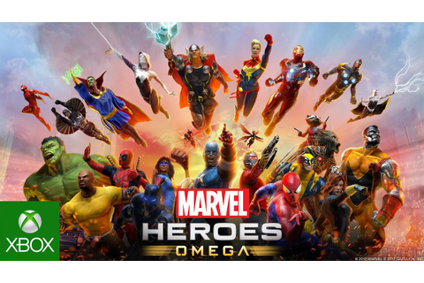 Marvel Heroes Omega - Xbox One Launch Trailer - YouTube