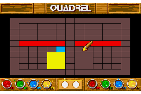 Quadrel (1990) by Loriciel Amiga game