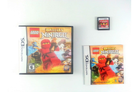LEGO Battles: Ninjago game for Nintendo DS (Complete ...