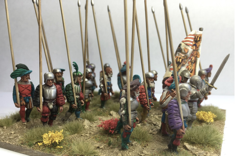 Lonely Gamers: Warlord Games Landsknechts Pikemen ...