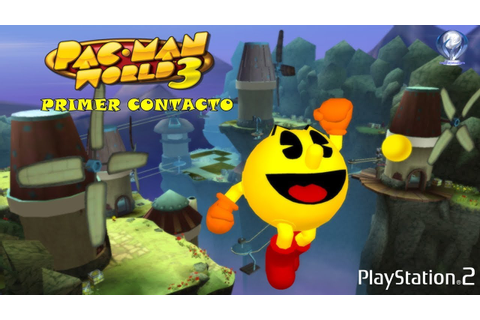 Primer Contacto: Pac-Man World 3 (Gameplay en Español, Ps2 ...
