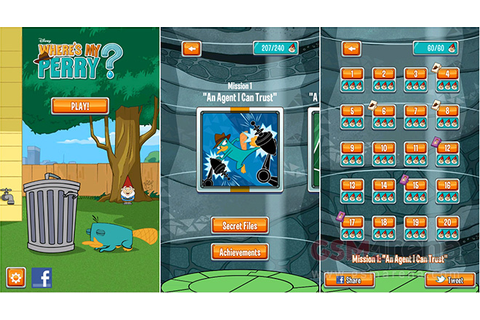 'Where's My Perry?' for iOS and Android game review