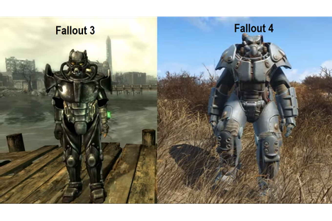 Fallout 4 Total Game Play With Differences in Fallout 3 ...