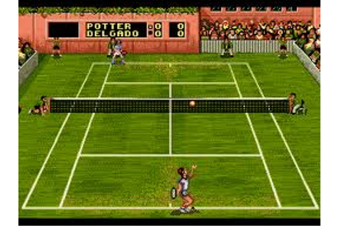 Pete Sampras Tennis 96 | SSega Play Retro Sega Genesis ...