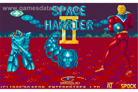 Space Harrier II - Atari ST - Games Database
