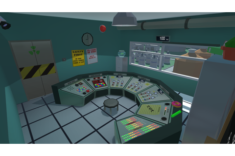 Nuclear power plant simulator by Devour