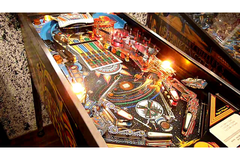 PIN·BOT Gameplay Pinball Machine / Flipper - YouTube