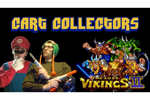 Cart Collectors - The Lost Vikings 2 (Game Review) - YouTube