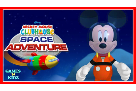 Mickey Mouse Clubhouse: Mickey's Space Adventure - Disney ...