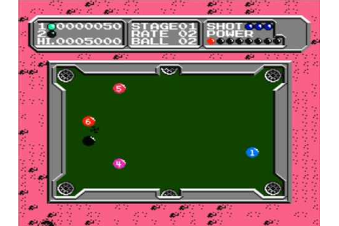 Nes - Lunar Pool (1987) - YouTube