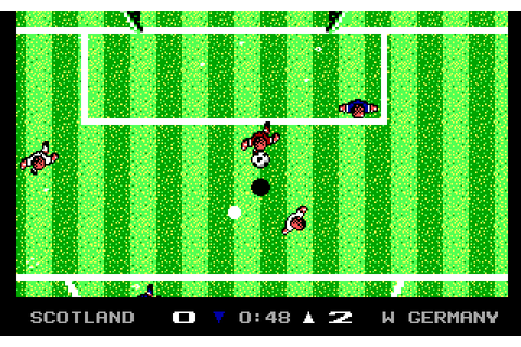 Microprose Soccer (1989) by Designer Software MS-DOS game