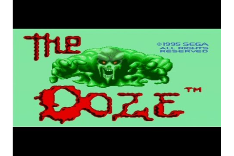 Classic Sega Game The Ooze on PS3 in HD 720p - YouTube