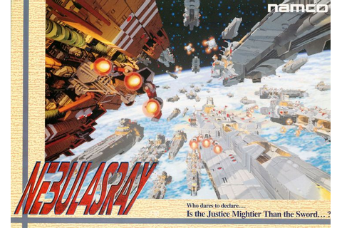 The Arcade Flyer Archive - Video Game Flyers: Nebulasray ...