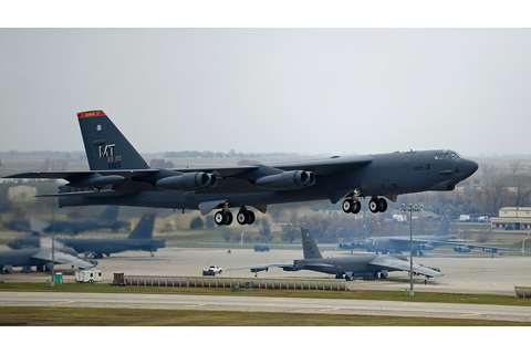 B-52s, nukes and 'messaging' missions: Inside a U.S. Air ...