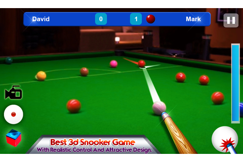 Snooker 3D Pool Game 2015 - Android Apps on Google Play