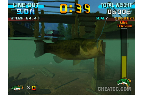 Sega Bass Fishing Review for the Nintendo Wii
