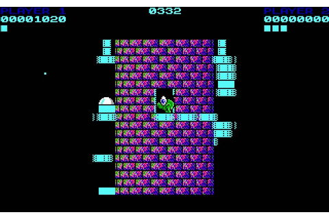 Download Tower Toppler (a.k.a. Nebulus) action for DOS ...