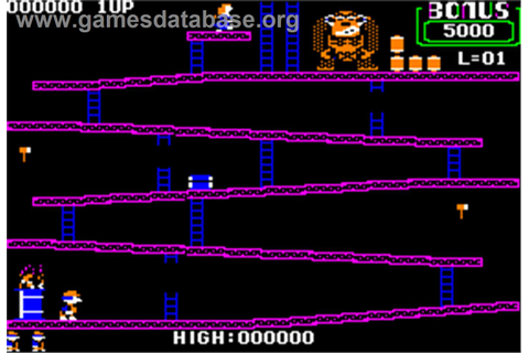 Donkey Kong - Apple II - Games Database