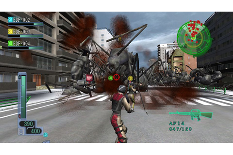 TGS: Earth Defense Force 3 perhaps more awesome on Vita