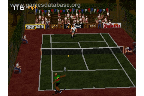 Tennis Arena - Sega Saturn - Games Database