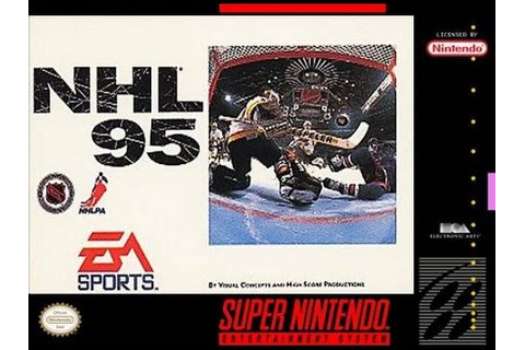 NHL '95 (Super Nintendo) - Game Play - YouTube