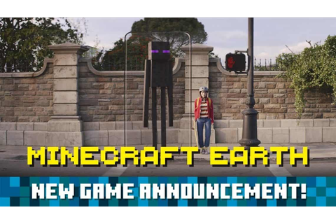 New Minecraft Earth AR Game Coming to iOS and Android