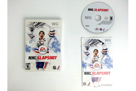 NHL Slapshot game for Wii (Complete) | The Game Guy