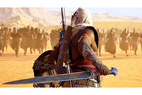 Assassin's Creed: Origins All Cutscenes Movie - YouTube