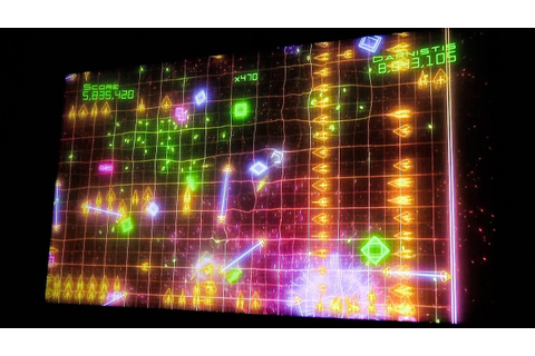 World Record: Xbox 360 - Geometry Wars 2 - Waves 5,879,475 ...