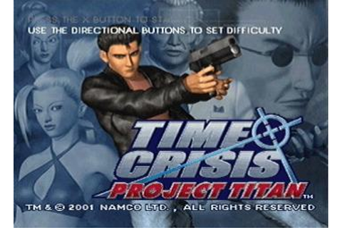 Screens: Time Crisis: Project Titan - PlayStation (1 of 10)