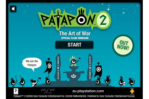 Patapon 2 Official Flash Minigame | Patapon Wiki | FANDOM ...