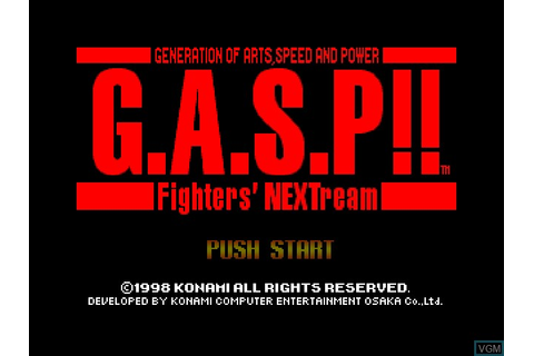 G.A.S.P!! Fighters' NEXTream for Nintendo 64 - The Video ...